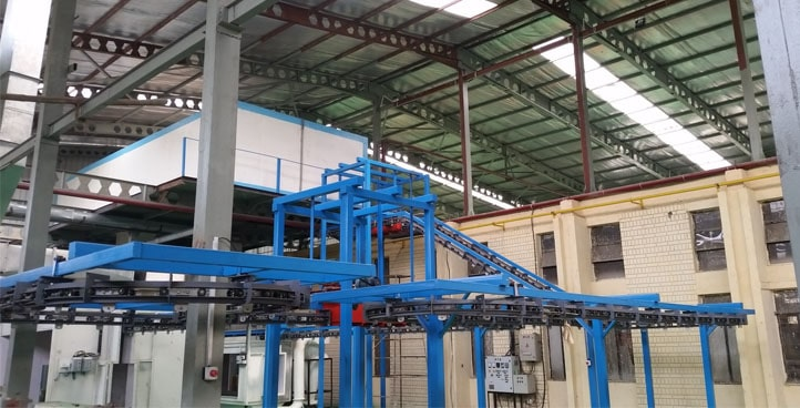4 Wheel Conveyor